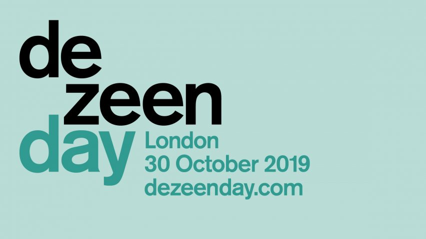Dezeen Day, London, 30 October 2019