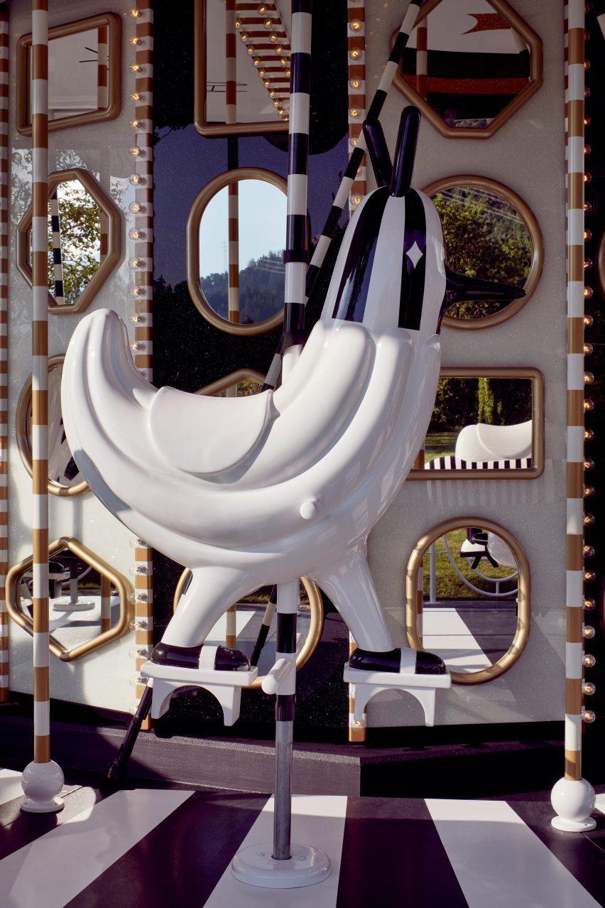 Jaime Hayon Carousel Swarovski at Swarovski Kristallwelten