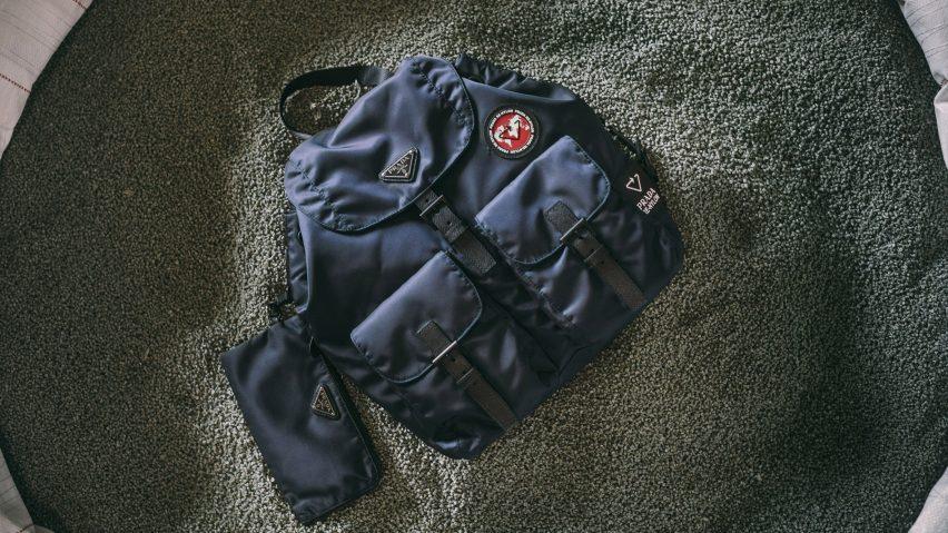 Prada Econyl recycled nylon bags