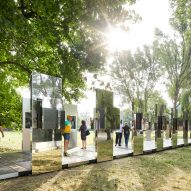 Daniel Libeskind designs photo installation at Auschwitz