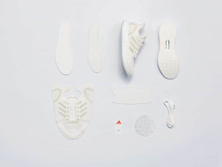 Circular economy: Adidas closed loop trainers
