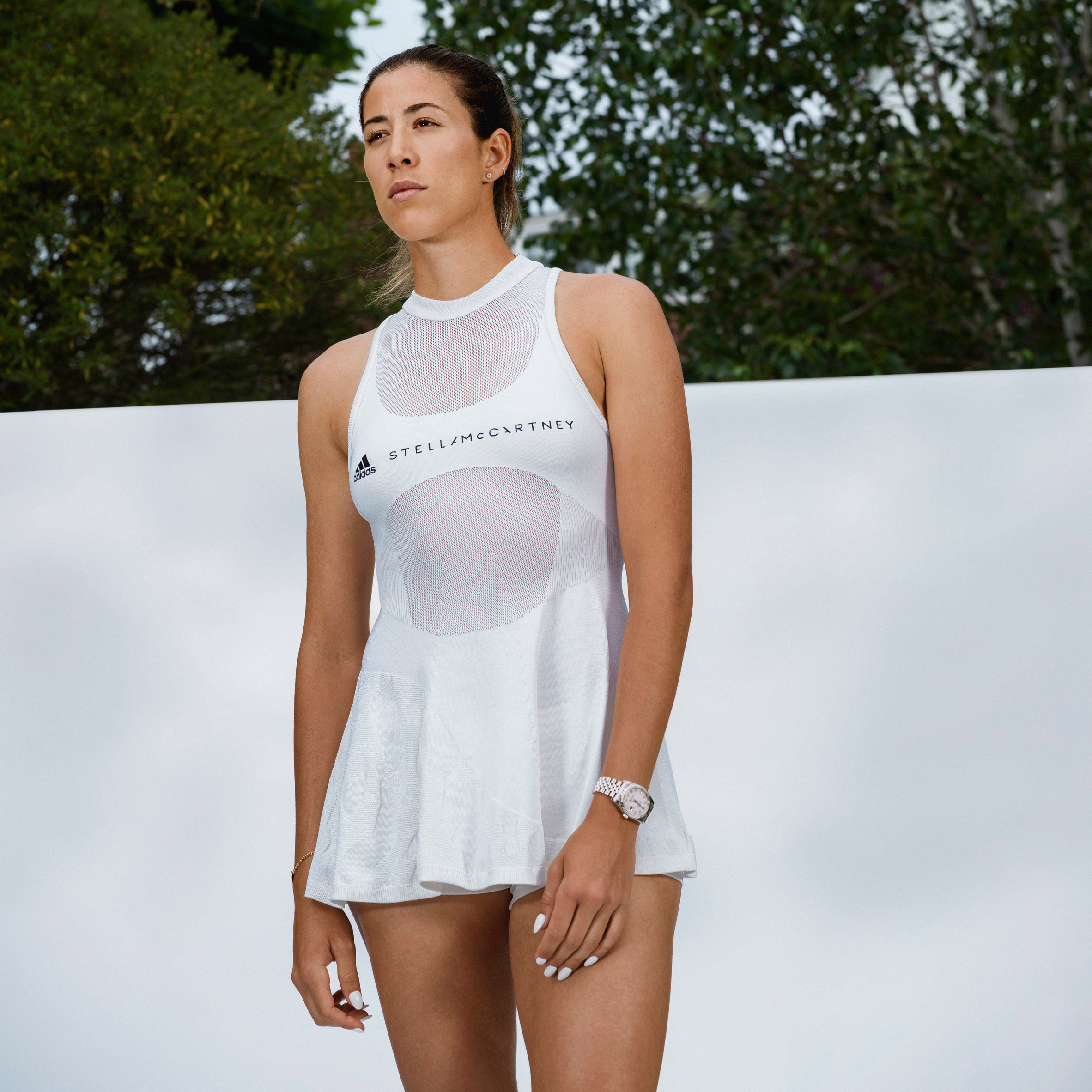 Lab-grown spider silk Biofabric Tennis Dress by Adidas x Stella ...
