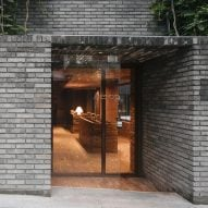Aesop store in south Seoul is a cosy red-brick retreat