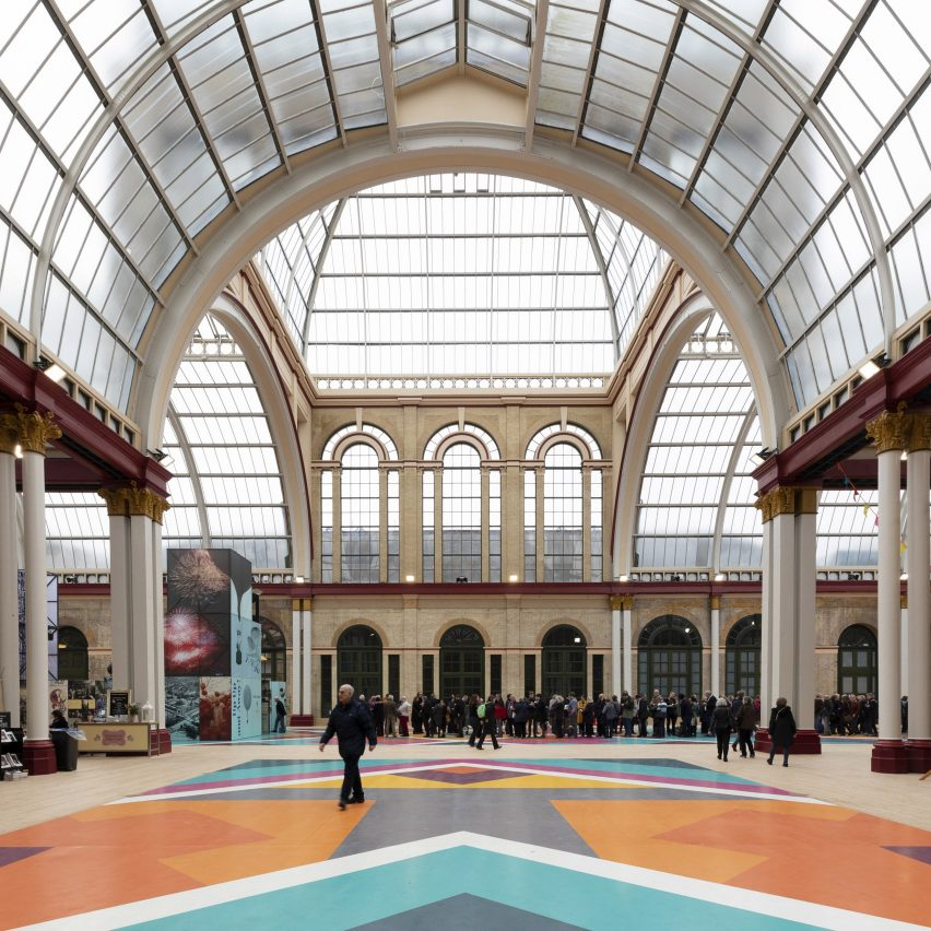 Alexandra Palace East Wing Renovation by Feilden Clegg Bradley Studios