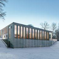 Johan Sundberg adds concrete spa to 16th century Swedish estate