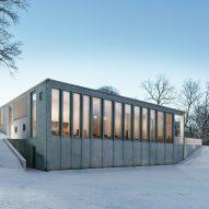 Johan Sundberg adds concrete spa to 16th century Swedish estate
