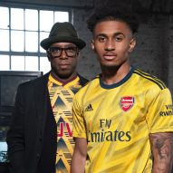 "Adidas revives iconic ""bruised banana"" shirt for Arsenal away kit"