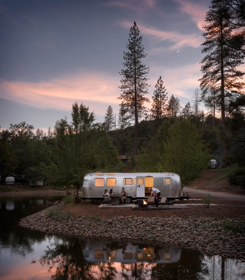 AutoCamp Yosemite is a glamping site in the California