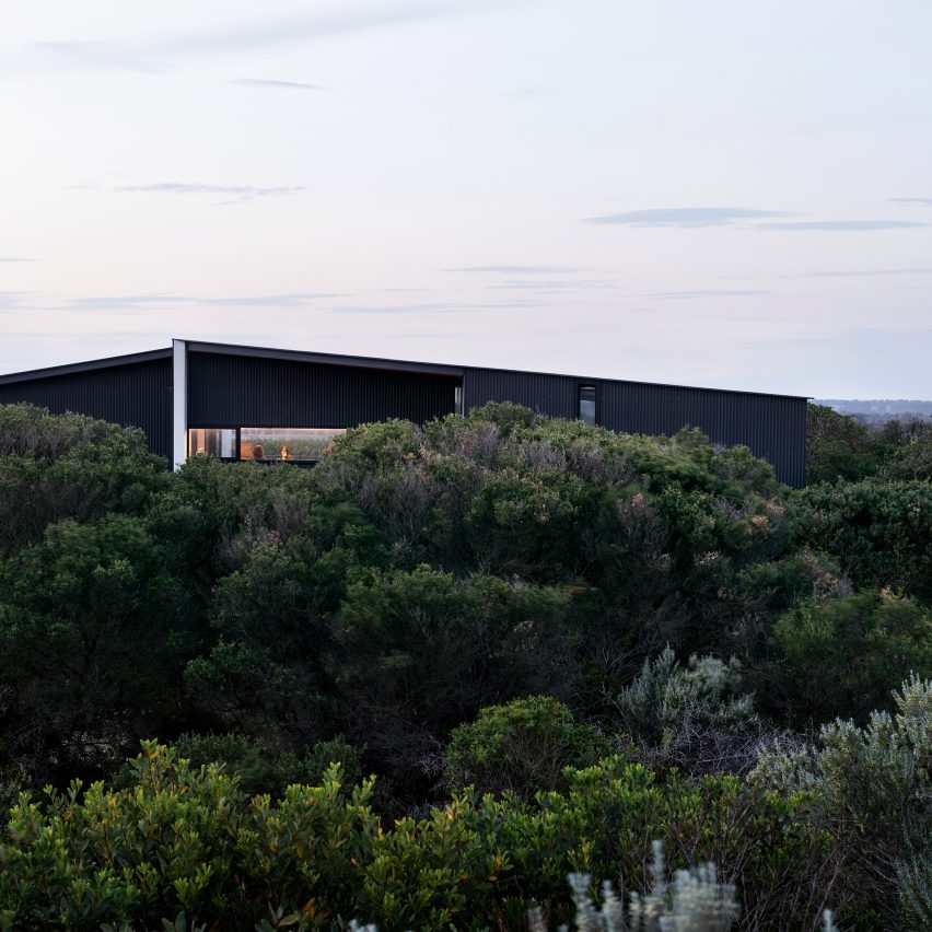 Lovell Burton completes spacious Barwon Heads House for retired couple