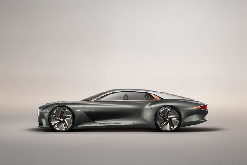 Bentley's sustainable EXP 100 GT concept reimagines grand touring for the year 2035