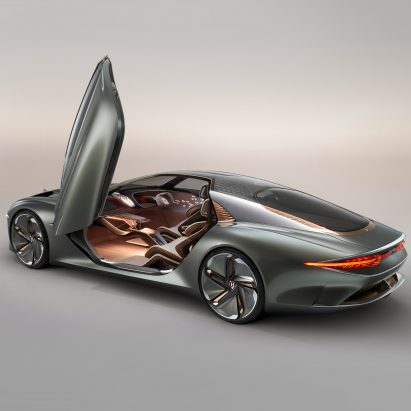 Bentley EXP 100 GT concept reimagines grand touring for the year 2035