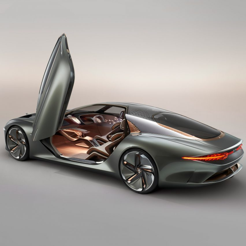 Bentley's EXP 100 GT concept reimagines grand touring for the year 2035