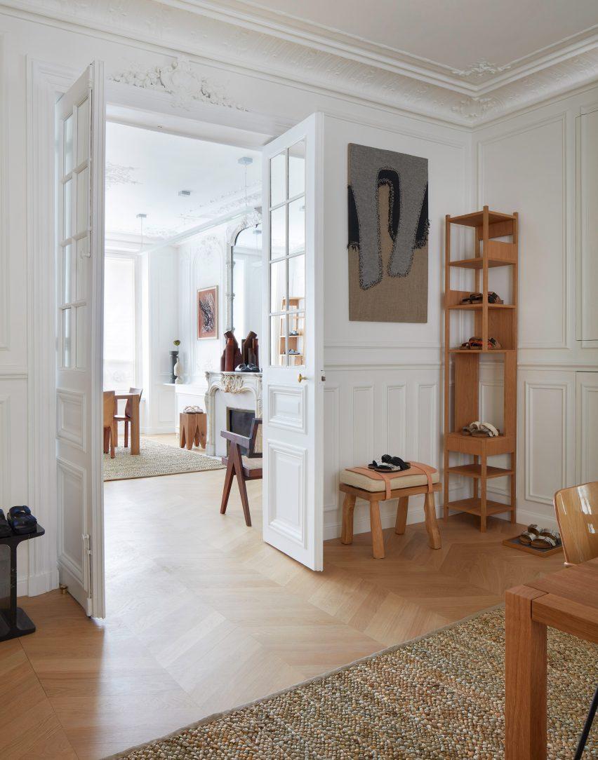 Birkenstock 1744 showroom designed by Vinson & Co