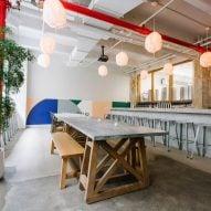 Carpenter + Mason fuses Japanese and industrial elements for Brooklyn Kura sake bar