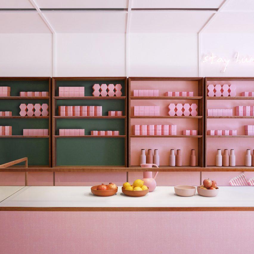 Dezeen Awards 2019 interiors longlist announced