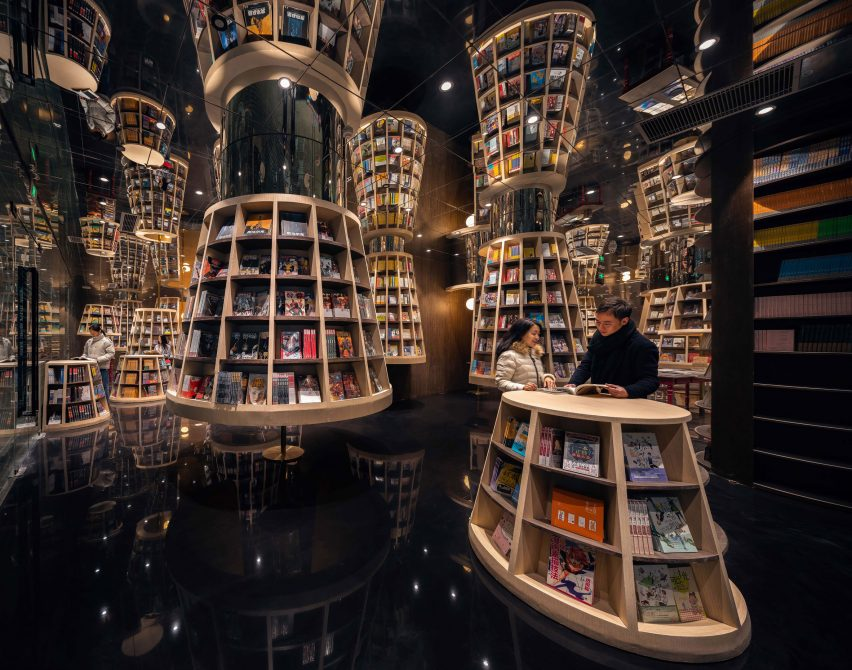 Chongqing Zhongshuge Bookstore by X+Living