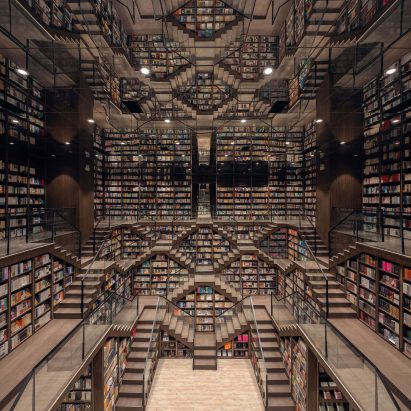 Chongqing Zhongshuge Bookstore by X+Living