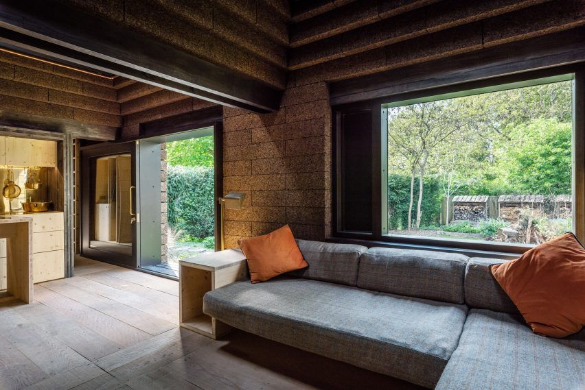 Cork House by Stirling Prize finalist Matthew Barnett Howland with Dido Milne and Oliver Wilton in Berkshire, England