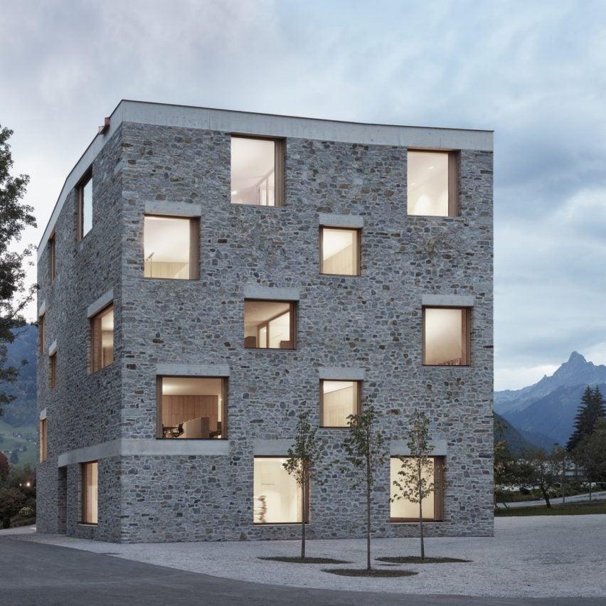 BestDealStore2Buy Awards 2019 longlist - Alpin Sport, Schruns, Austria, by Bernardo Bader Architekten