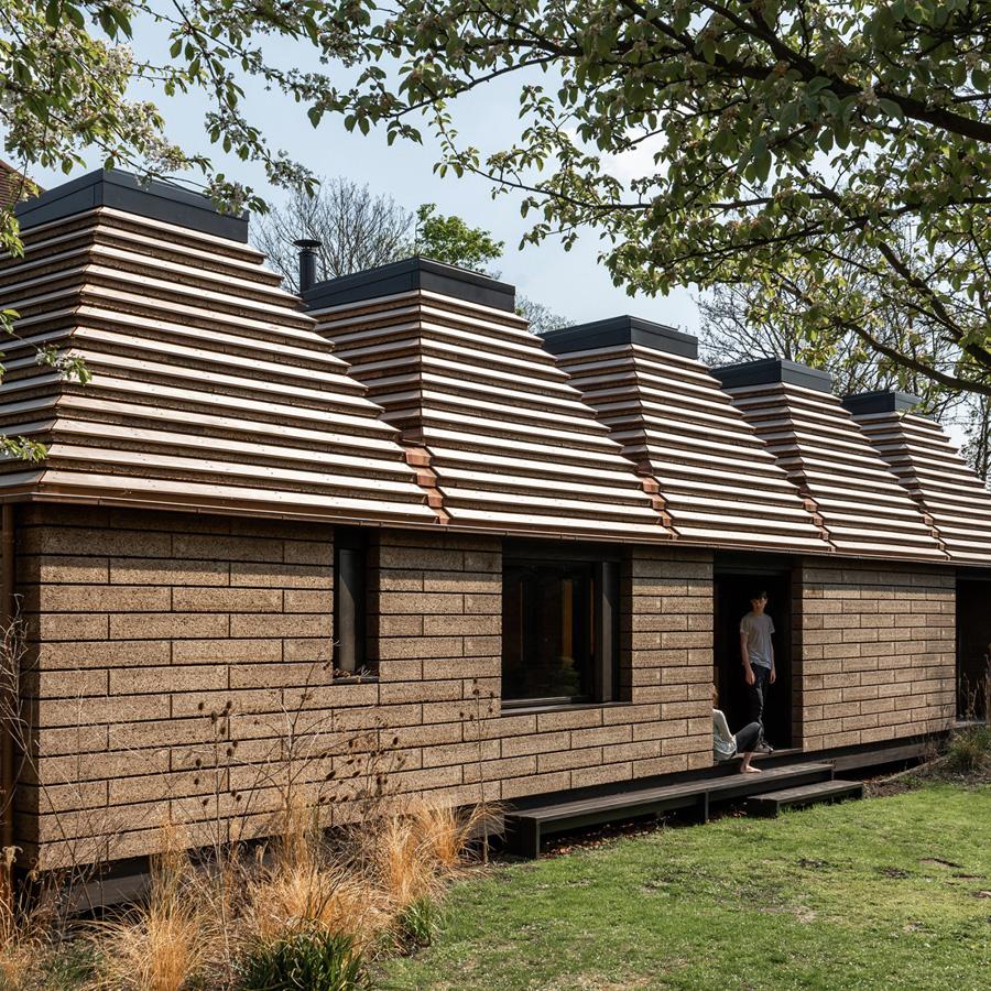 Dezeen Awards 2019 longlist - Cork House, Windsor, UK, by Matthew Barnett Howland, Dido Milne and Oliver Wilton
