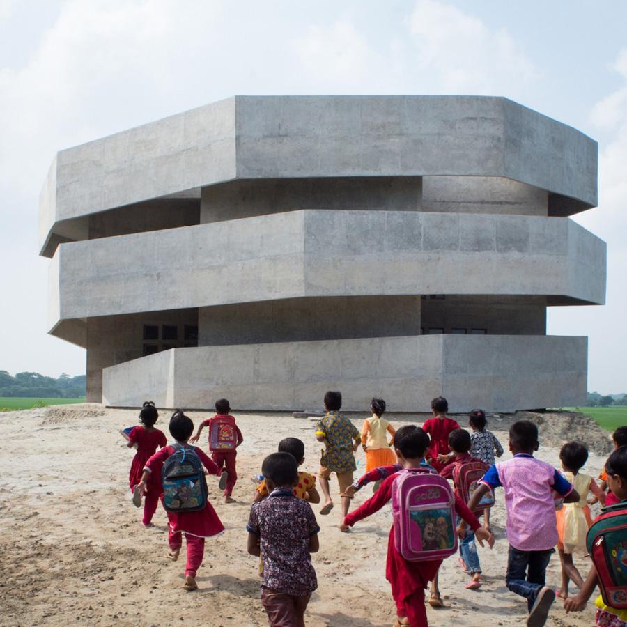 Dezeen Awards 2019 longlist - Cyclone Shelter, Lata Chapli, Bangladesh, by Kashef Chowdhury/URBANA