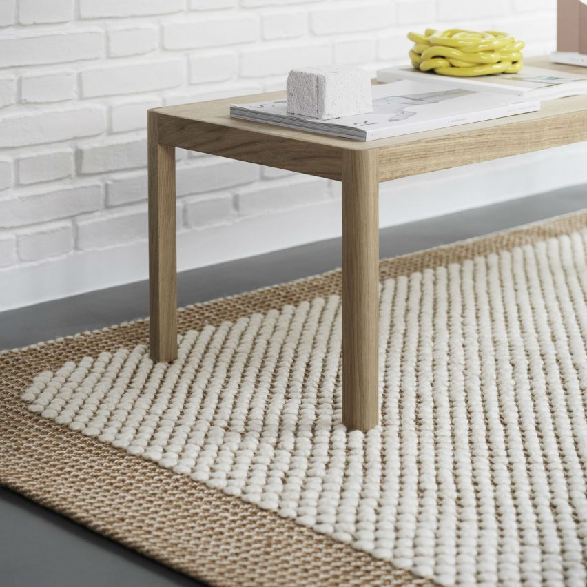 Dezeen Awards 2019 design longlist: Pebble Rug by Margrethe Odgaard for Muuto
