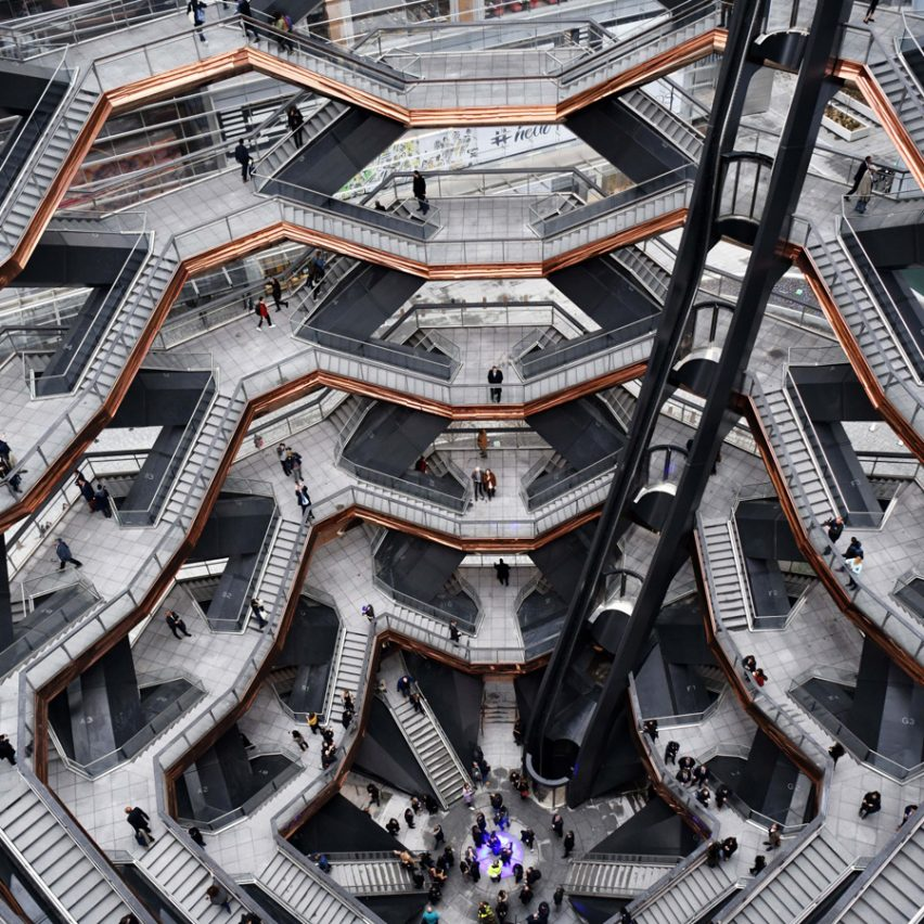Dezeen Awards 2019 longlist - Vessel, New York City, US, by Heatherwick Studio