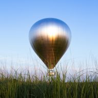Watch Doug Aitken's mirrored hot air balloon take flight