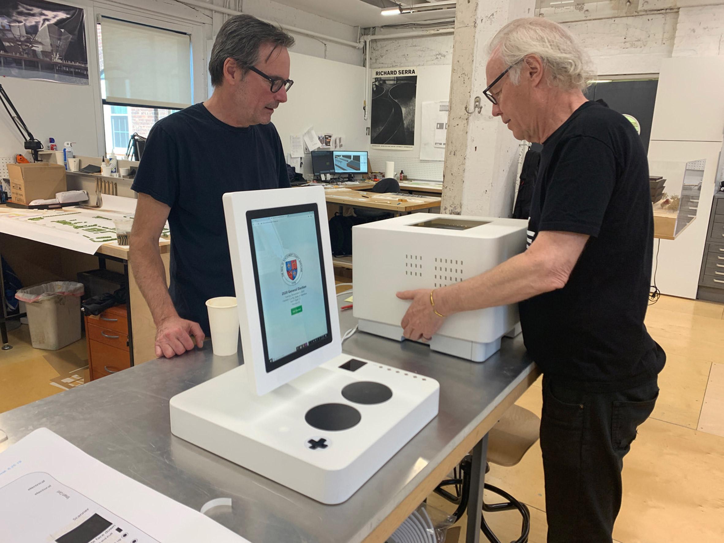 ElectionGuard voting machine by Tucker Viemeister
