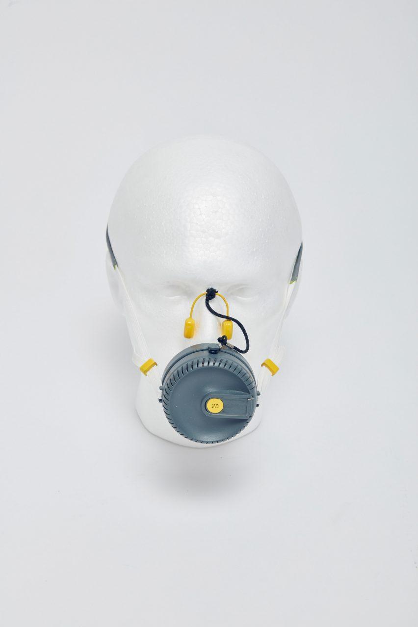 Fire Evacuation Breathing Apparatus by Rimal Bhatt