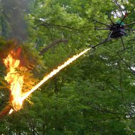 Flamethrower drone can shoot a seven-metre-long stream of fire