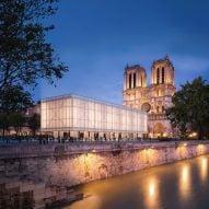 Gensler designs Pavillon Notre-Dame as temporary worship space