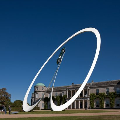 Gerry Judah sculpture Goodwood Festival of Speed