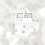 Floor plan of Goat House by Talin Architectural Design