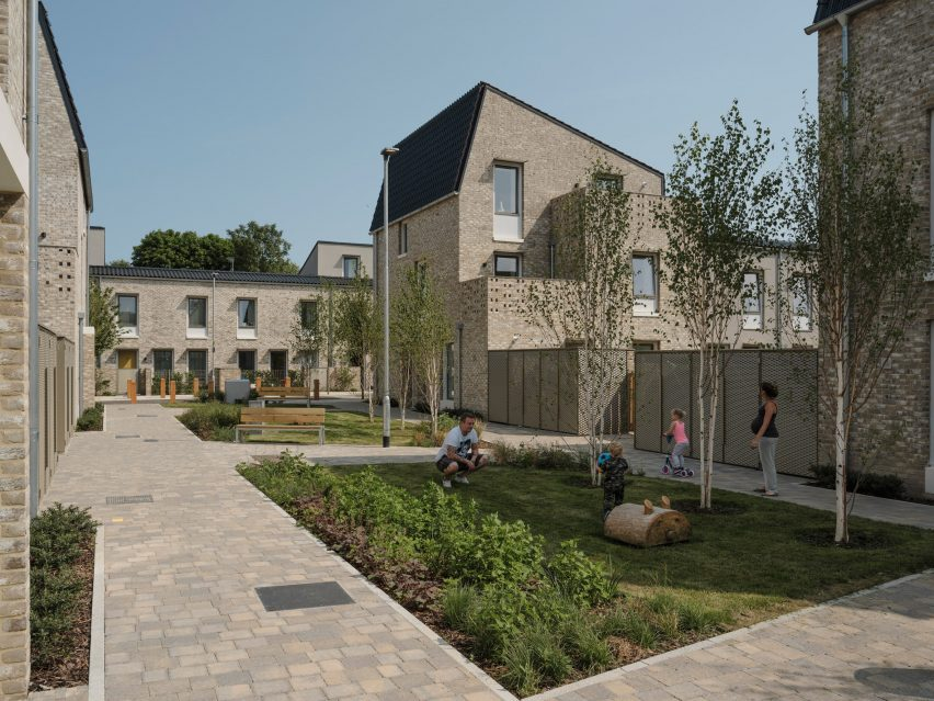 Stirling prize 2019 winner: Goldsmith Street social housing by Mikhail Riches with Cathy Hawley in Norwich