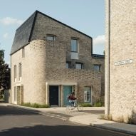 Mikhail Riches creates energy-efficient terraced streets as social housing in Norwich