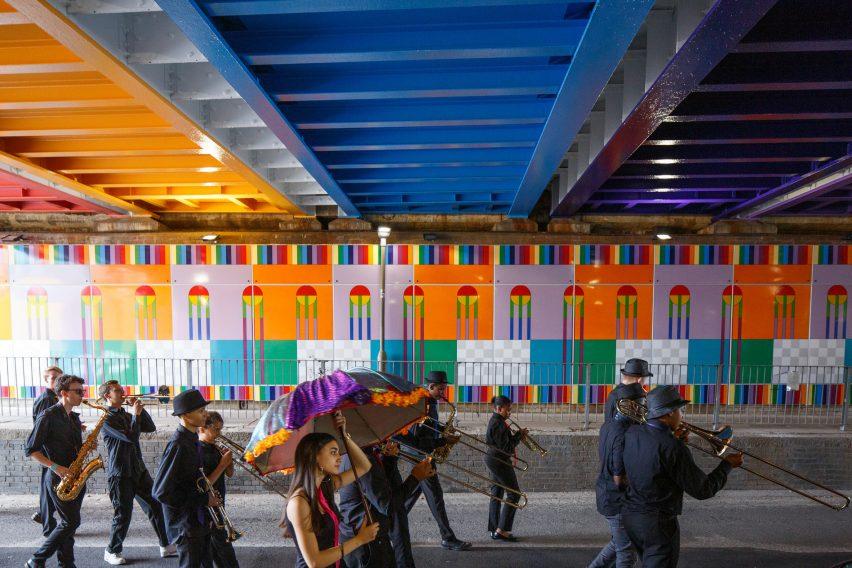 London Festival of Architecture: Happy Street by Yinka Ilori