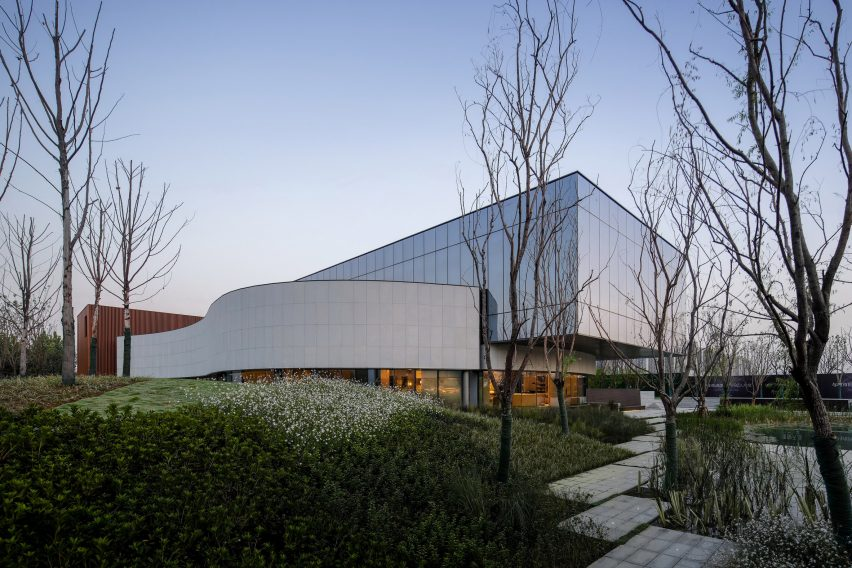 Hefei RIver Central Smart Garden Library by Geedesign