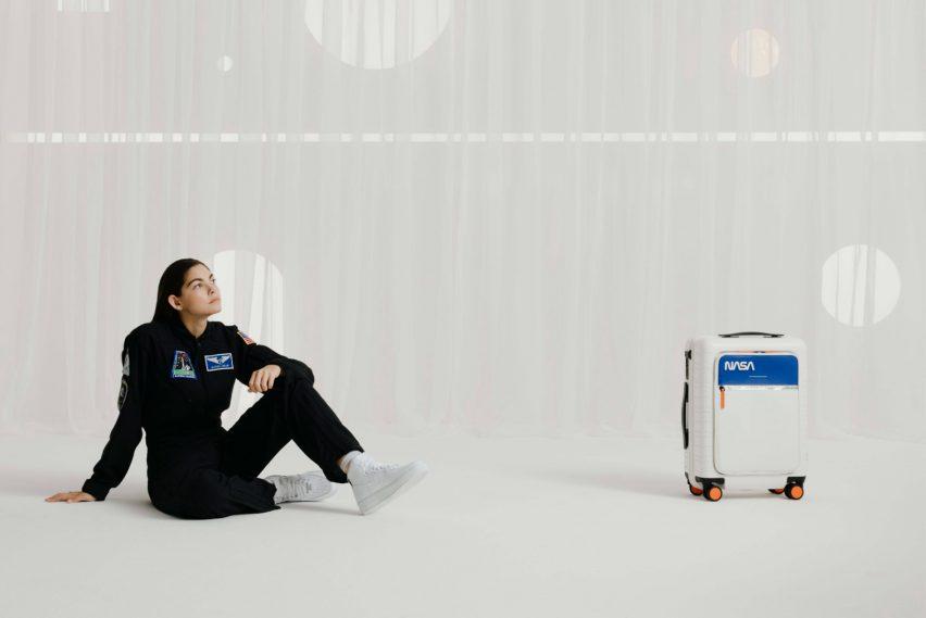 Horizn Studios and Alyssa Carson create luggage for space travel
