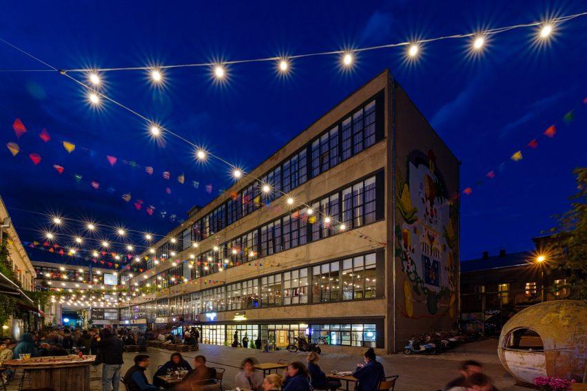 El albergue Fabrika es Tbilisi