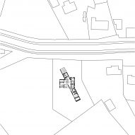 Site plan of House TL by WE-S WES Architecten