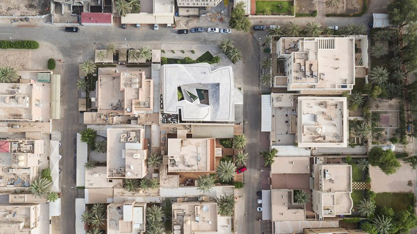 Houses from the air – birds-eye views