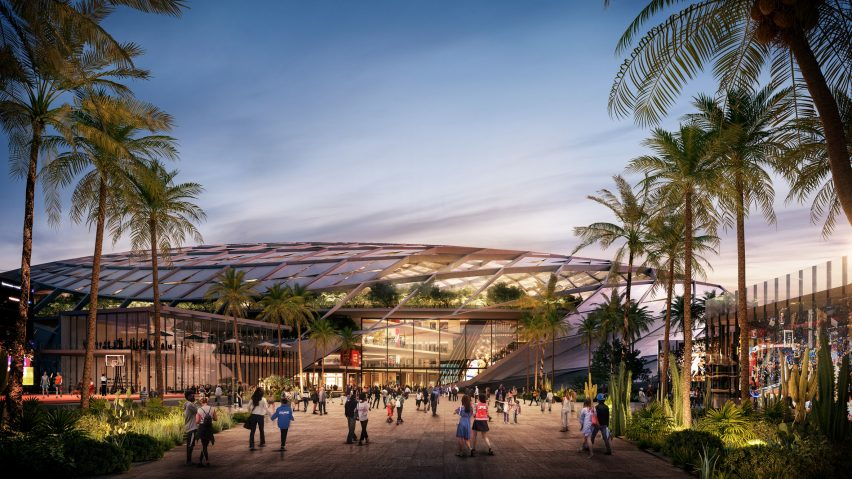 The Inglewood Basketball and Entertainment Center by AECOM