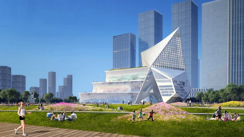 International Conference and Exchange Centre in Shenzhen by OMA and CCDI