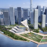 OMA to create waterfront conference centre in Shenzhen