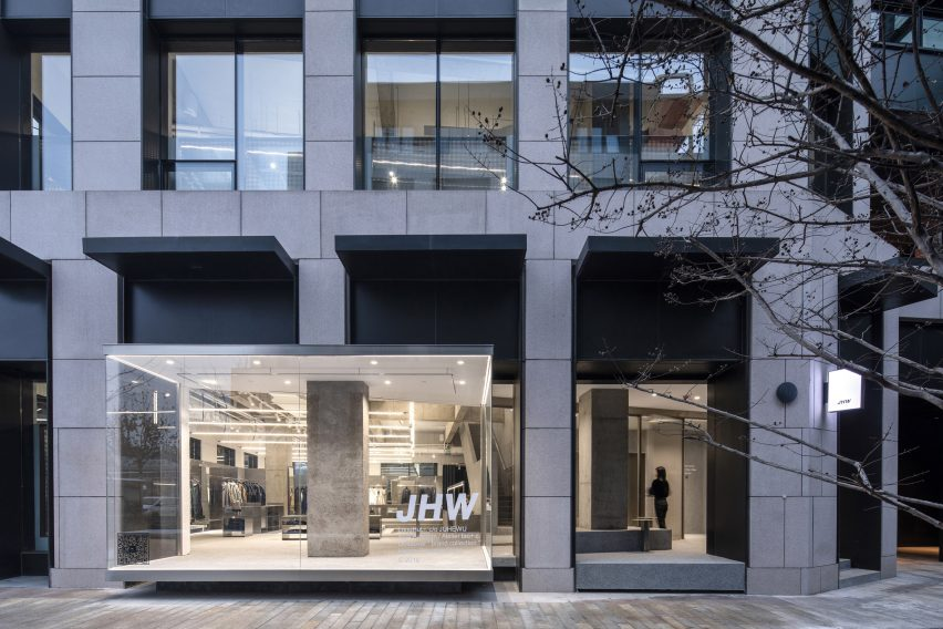 JHW store by Atelier Tao+C