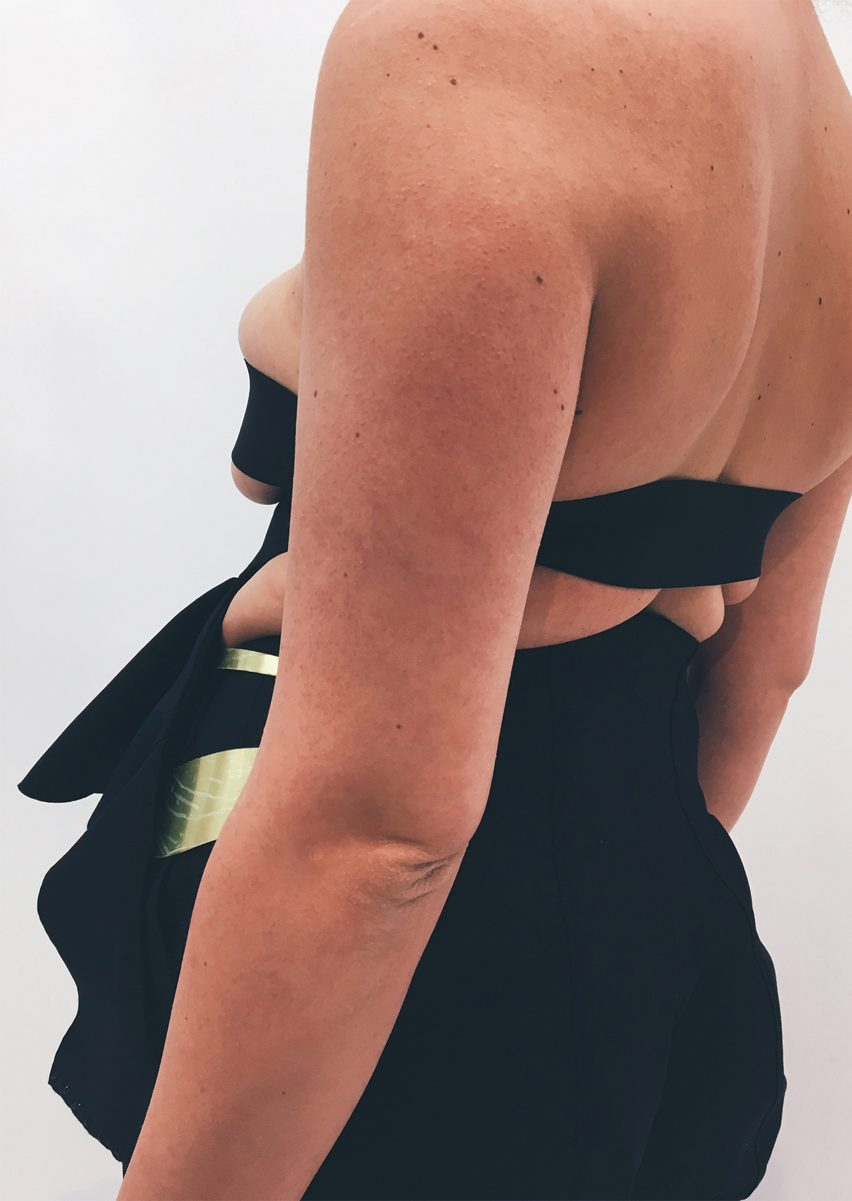 Karoline Vitto's garments accentuate the fat rolls women are told to hide
