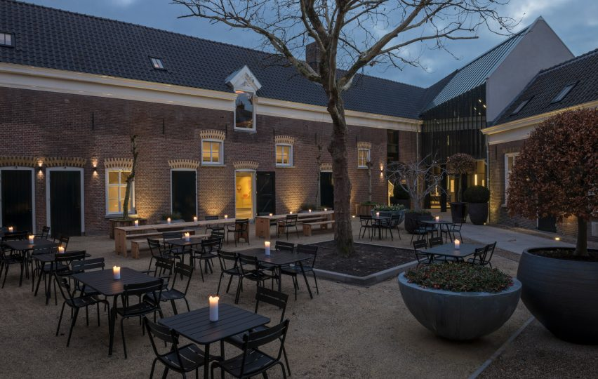 Kazerne hotel, Eindhoven by Moon/en/co and Van Helmond Architecten