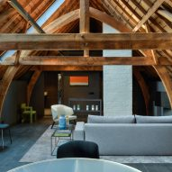 Kazerne is a design-focused boutique hotel in Eindhoven