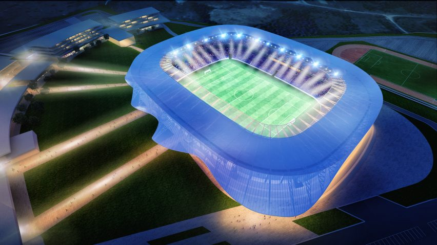 Kosovo National Stadium by Tabanlioglu Architects
